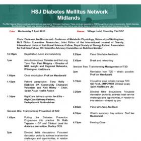 HSJ Diabetes Mellitus Network - Midlands