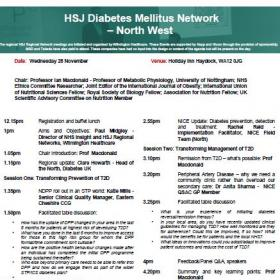 HSJ Diabetes Mellitus Network, North West